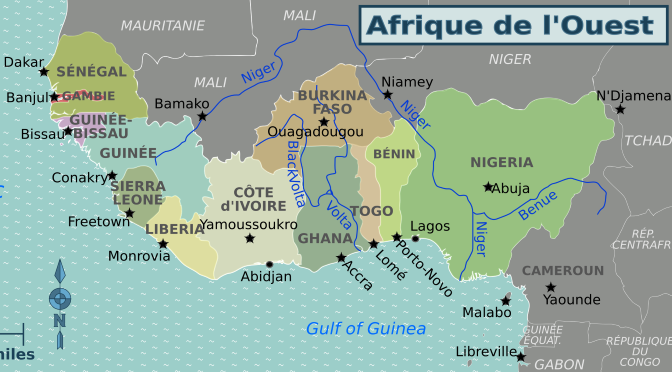 Tempête climatique sur la west Africa !!!