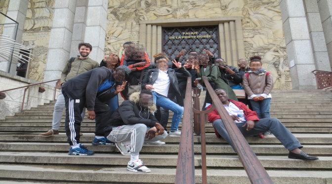 Notre folle sortie à l'expo Frontières au musée de l'histoire de l'Immigration