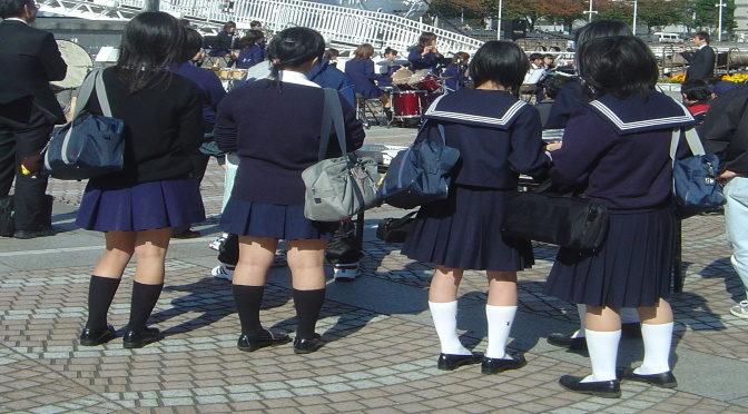 Au Japon, chaque cours commence par le salut au professeur