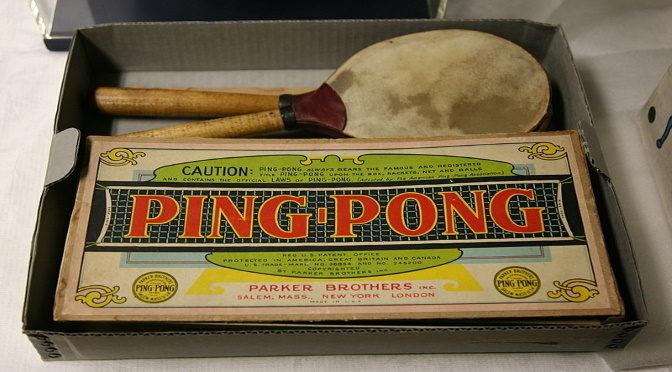 Du ping-pong au tennis de table :  une histoire riche en… rebondissements !