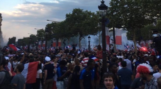 15 juillet 2018, un peuple et son équipe